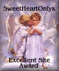 SweetHeartOnlys Excellent Site Award